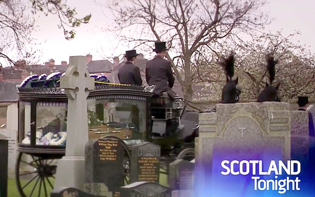Adapting to help grieving families – STV Scotland Tonight Interview